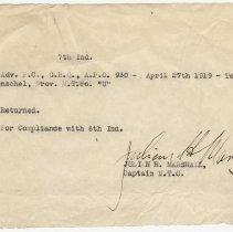 Image of 1996.51.136ES - Memorandum