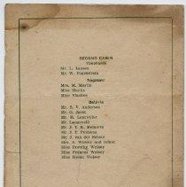 Image of 1987.31.5_passenger List_back