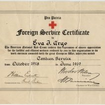 Image of 1982.98.134 - Certificate