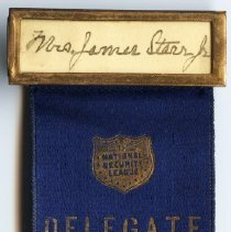 Image of 1987.41.11 - Ribbon, Membership