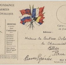 Image of 2014.179.3 - Postcard, Inscribed
