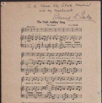 Image of 1928.36 - Music, Sheet