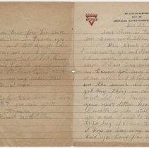 Image of 01_1992.80.1_december 23, 1918_pvt Grant Mcclellan To Wife (bessie Mcclella
