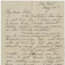Image of 041_2013.42.1_may 22, 1916_raymond Penniman To Family