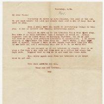 Image of 019_2013.42.1_november 11, 1915_raymond Penniman To Family