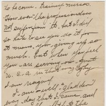 Image of 05_1999.79.3_july 2, 1918_m. Langley  To Olivia Hemphill_page 02