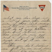 Image of 03_1999.79.3_february 25, 1918_perry Cook  To Florence Hemphill_page 02