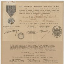 Image of 1929.5.2 - Certificate