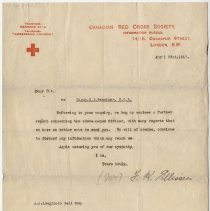 Image of 03_2013.42.17_april 23, 1917_canadian Red Cross Society To A.j. Loughboroug