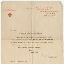 Image of 04_2013.42.17_may 23, 1917_canadian Red Cross Society To Edwin G. Penniman