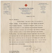 Image of 06_2013.42.17_january 28, 1918_american Red Cross To A.w. Merchant