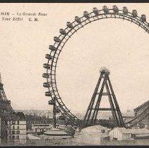 Image of 1992.14.10c - Postcard, Inscribed