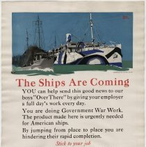 Image of U.S. Shipping Poster