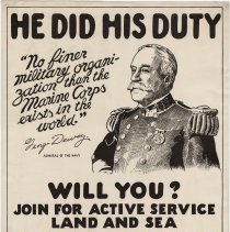Image of U.S. Marines Enlistment Poster