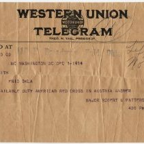 Image of Telegram for Dr. P.A. Smithe