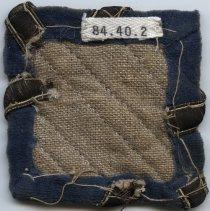 Image of 3rd Division Shoulder Sleeve Insignia - Back