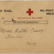Image of Inscribed Postcard - Front