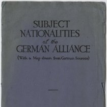 Image of Subject Nationalities of the German Alliance - Page 01