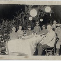 Image of German Soldiers at Night - Front
