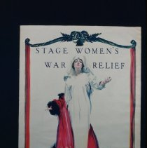 Image of Stage Women's War Relief Poster