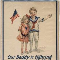Image of U.S. 2nd Liberty Loan Poster