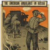 Image of The American Ambulance in Russia Poster