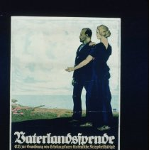 Image of Fatherland Donation - German Poster