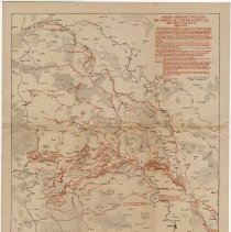Image of Meuse-Argonne Offensive Map