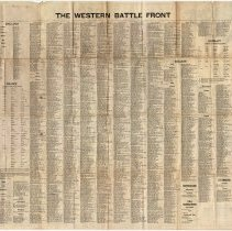 Image of Western Front Map