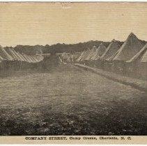Image of Company Street, Camp Greene