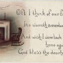 Image of 2003.23.2 - Postcard, Inscribed