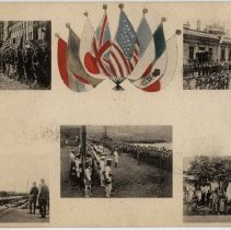 Image of Allied Troops in Vladivostok