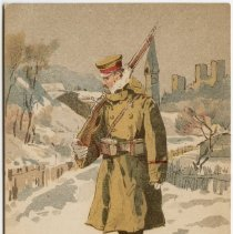 Image of Color Illustration of Japanese Soldier