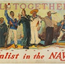 Image of United States Navy Enlistment Poster
