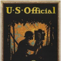 Image of U.S. Official War Pictures Poster