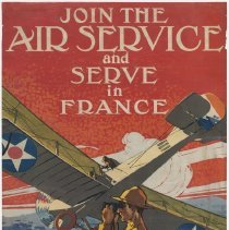 Image of U.S. Air Service Enlistment Poster