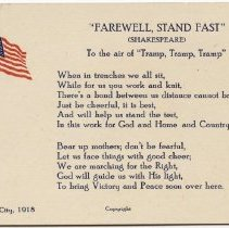 Image of Farewell, Stand Fast