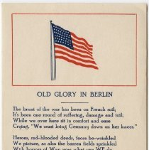 Image of Old Glory in Berlin