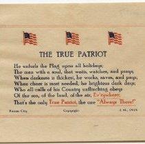 Image of 1936.2.17 - Poem