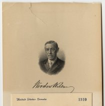 Image of 1917 Inauguration  Invitation - Page 01