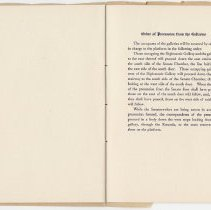 Image of 1917 Inauguration Program - Page 18-19