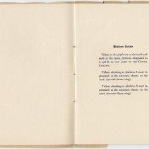 Image of 1917 Inauguration Program - Page 04-05