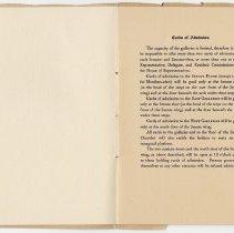 Image of 1917 Inauguration Program - Page 08-09