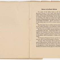 Image of 1917 Inauguration Program - Page 10-11