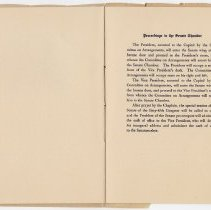 Image of 1917 Inauguration Program - Page 14-15