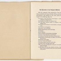 Image of 1917 Inauguration Program - Page 16-17