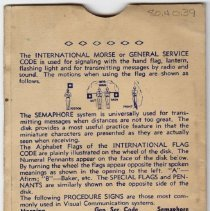 Image of Pocket Signal Disk Envelope