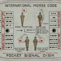 Image of 1981.53.2 - Card, Instruction