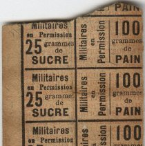 Image of French Ration Card
