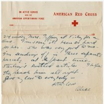 Image of 01_2009.31.50_alice Pratt Carter To Parents_november 29, 1918_page 11